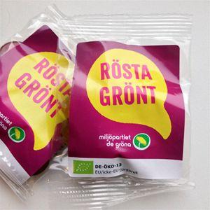 Bild på Godispåsar - Rösta grönt 100 st