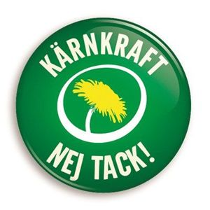 Bild på Knapp - Kärnkraft nej tack