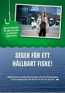Bild på Grön fiskeseger