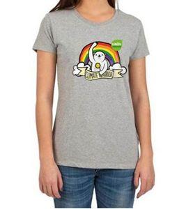 Bild på T-shirt med logga rak- Climate Warrioirs