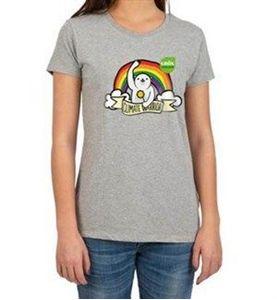Bild på Tshirt med logga insvängd- Climate Warriors
