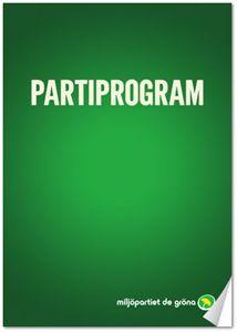 Bild på Partiprogram