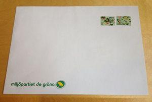 Bild på Kuvert C4 - MP logga