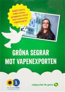 Bild på Gröna segrar mot vapenexport