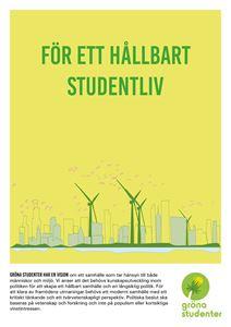 Bild på Poster Gröna Studenter