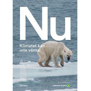 Bild på NU Affisch Isbjörn
