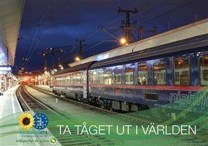 Bild på Ta tåget ut i världen - vision för en ny europeisk tågpolitik
