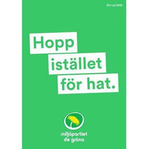 Bild på EU Affisch Hopp UTE