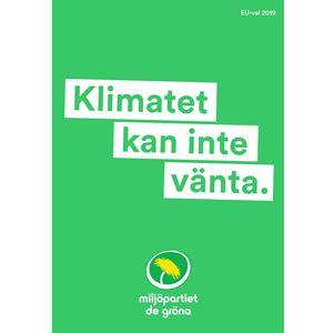Bild på EU Affisch Klimat UTE