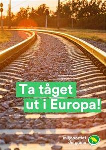 Bild på Flyer - Ta tåget ut i Europa