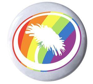 Bild på Knapp - HBTQ Symbolen