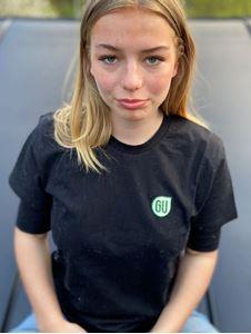 Bild på T-shirt Svart - Grön Ungdom